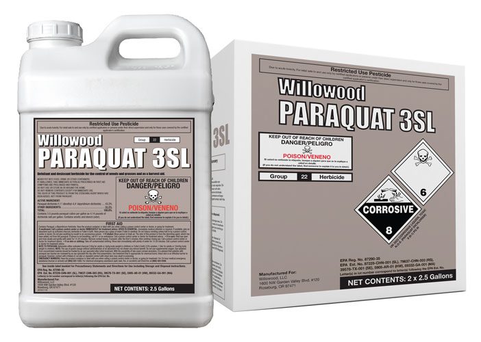 PARAQUAT 3SL Box and Jug