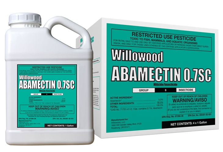 ABAMECTIN 0.7SC Box and Jug